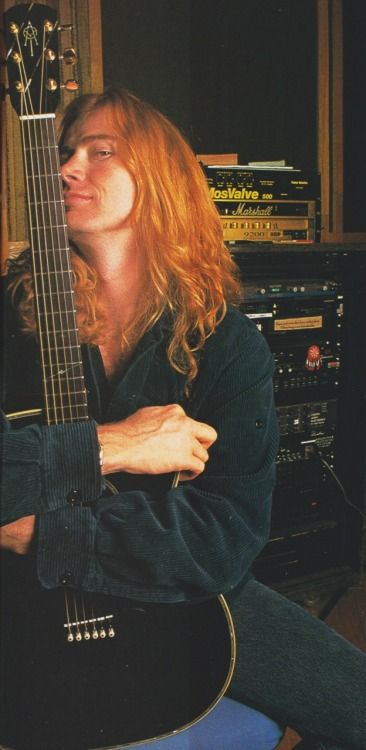 Dave Mustaine (July/1999/Burrn!)