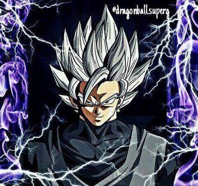 Goku Black / Dark Goku / Super Saiyan White by dragonballsuperg on ...