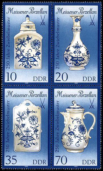 Germany (DDR), 1989. Meissener Porzellan