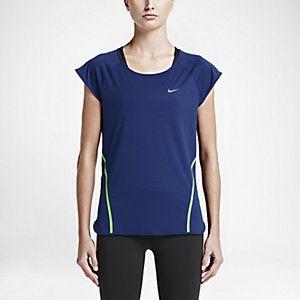 Женский топ для бега Nike City Short-Sleeve