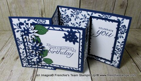 Hello Friends      It's time to shine the spotlight to Frenchie's Team. This month I challenge them to make a fun or fancy fold card. WOW ...                                                                                                                                                                                 More