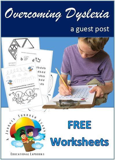 FREE printable worksheets to help students with dyslexia improve their reading!