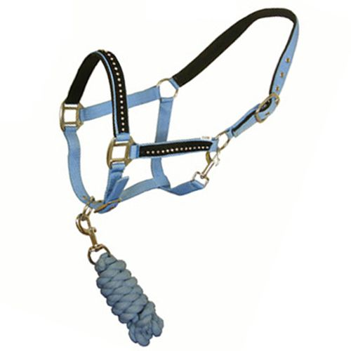 Head collar and lead rope