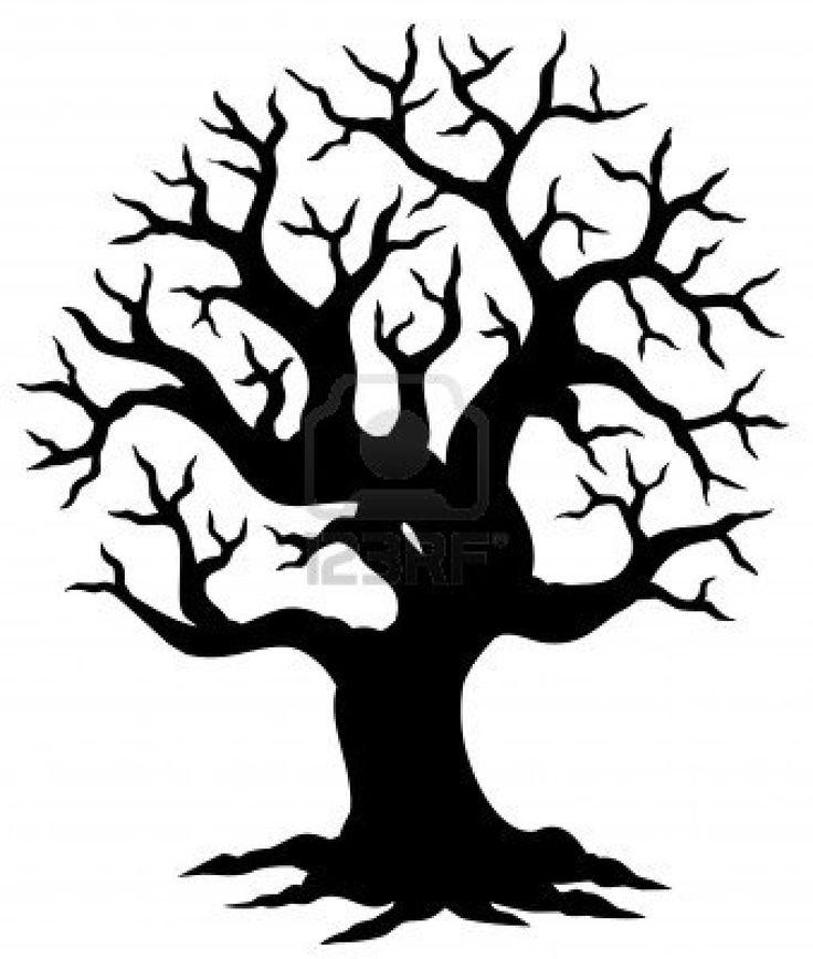 halloween tree cutout