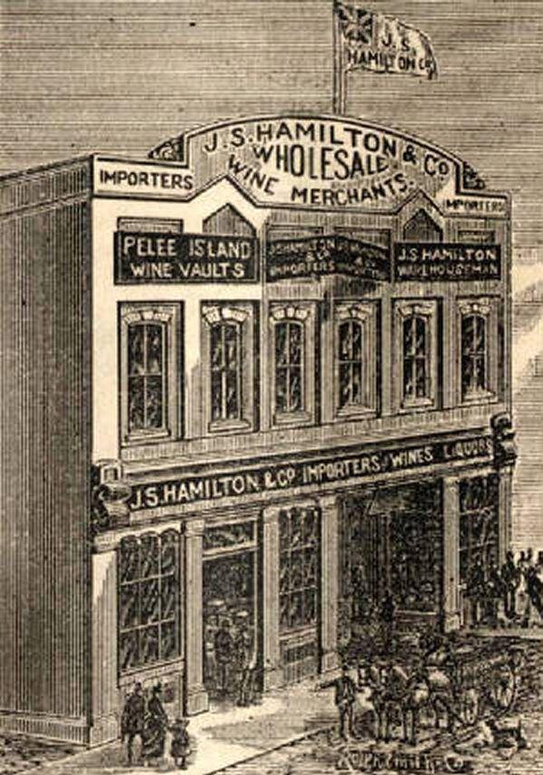Back in the Day... J.S. Hamilton Wine