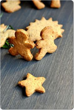 biscuits de Noël à la clémentine