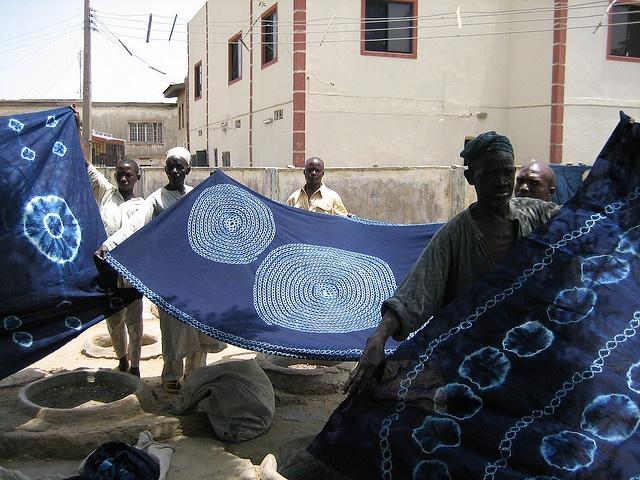 Indigo Dyed Textiles