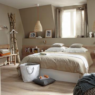 Photo decoration deco chambre a coucher champetre. Pi ces maison on Pinterest Home Renovation, Comment and Zen