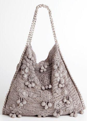 Os maravilhosos vestidos e bolsas em crochê e tricô de seda de Vanessa Montoro e Corello