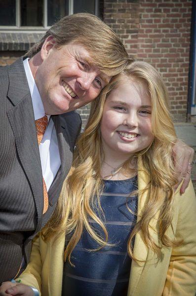 La Famille Royale Des Pays Bas À Tilburg Le 27 Avril 2017 6