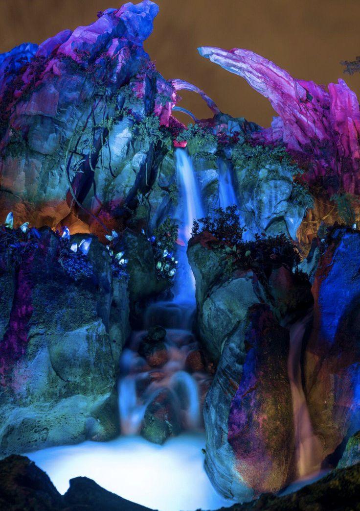 Disney World's Pandora - The World of AVATAR at night - stunning photos | Disney's Animal Kingdom