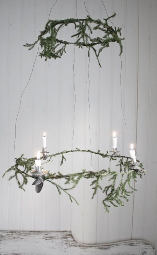 DIY Advent Wreath by Johanna Flyckt