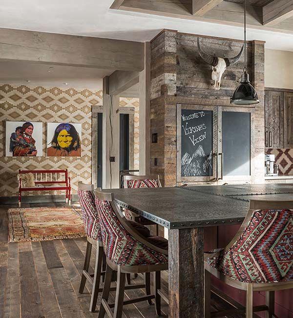 Sumptuous Montana Retreat Featuring Cozy Rustic Modern