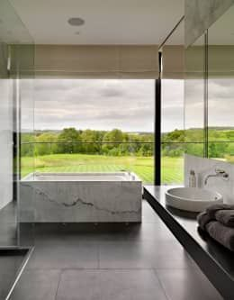Berkshire: modern Bathroom by Gregory Phillips Architects