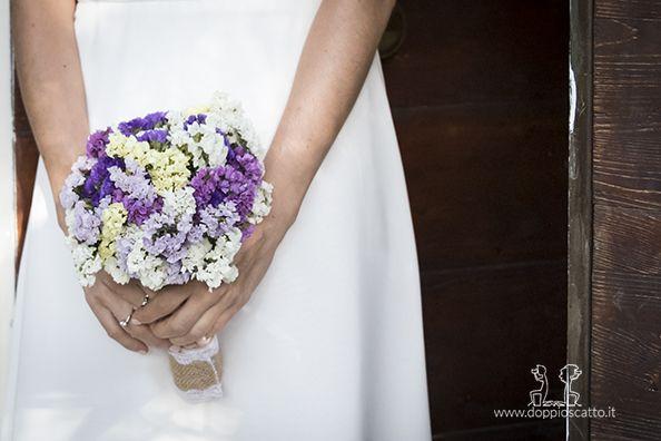 Bouquet Sposa Napoli.Il Mio Bouquet Da Sposa Fiori Di Statice Colorati Per Uno