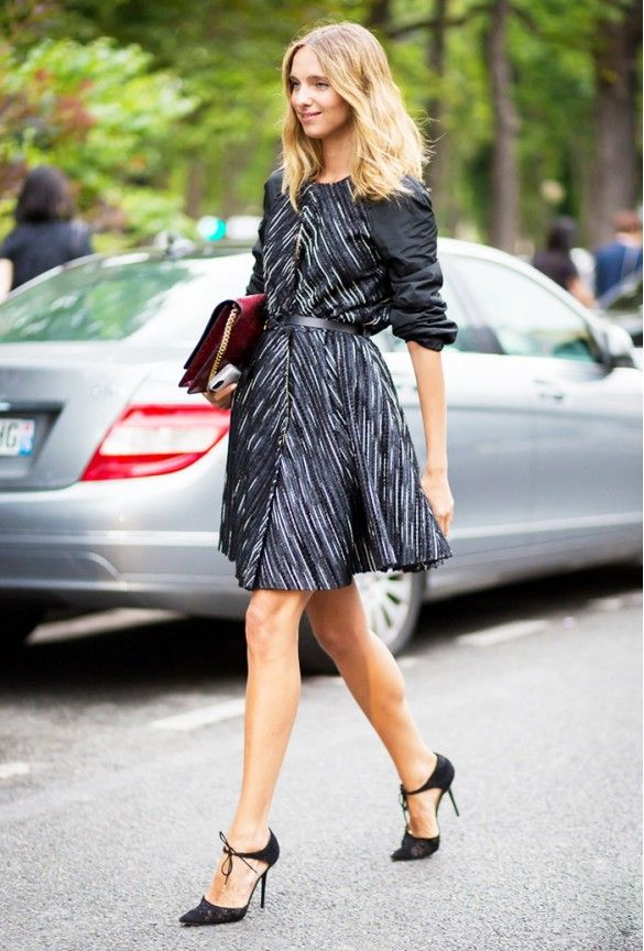 What Shoes To Wear With Every Type Of Dress This Fall Street Style Fashion Dresses