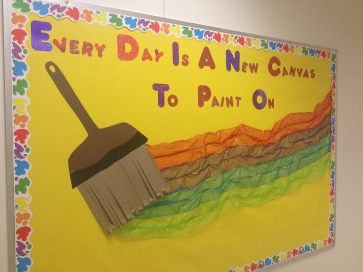 inspirational bulletin boards school