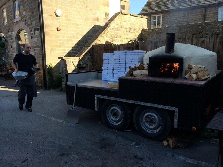 Authentic pizza baked in one of our real wood burning ovens at Colemans Deli in Hathersage. www.splendidpizza.co.uk