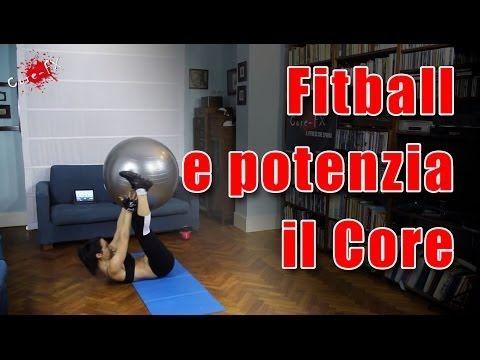Esercizi in casa con la Fit ball - CoreFx