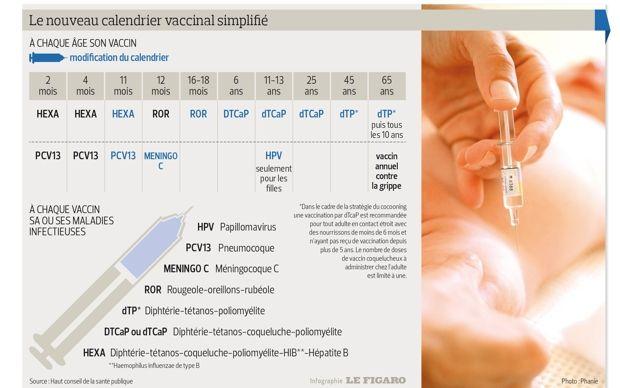 Vaccins : suivez le guide !   Actualité   LeFigaro.fr - Santé