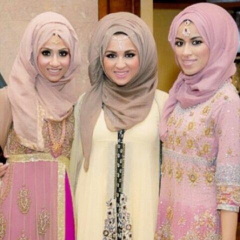 Hijabi girls