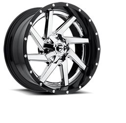 CRAGAR 610C - SS Chrome 5-Spoke 17 inch | Rims | Tires