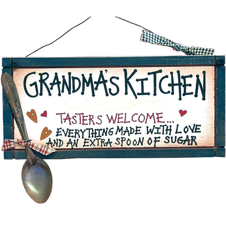 Grandmas Kitchen Everything Made with Love Sign 22911 | Buffalo Trader Online