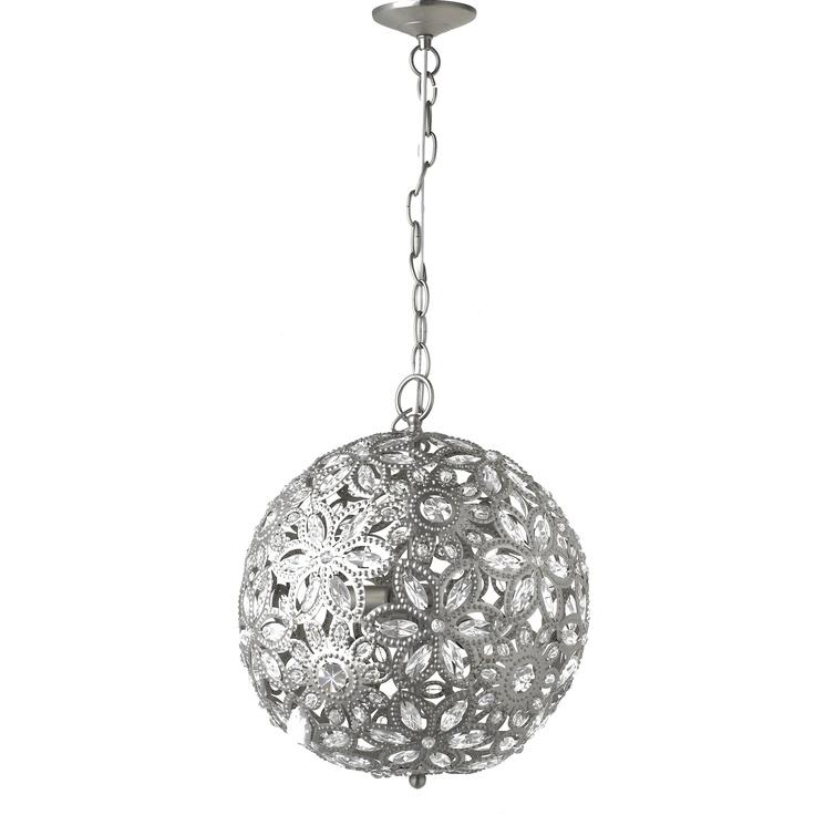 Bluma Nickel Decorative Ball Pendant Light166 best Chandeliers Pendant Lights images on Pinterest   Pendant  . Ashley Lighting. Home Design Ideas
