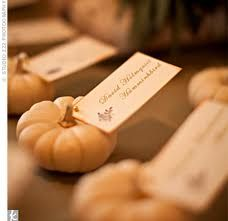pumpkin inspiration please! :  wedding Place Cards