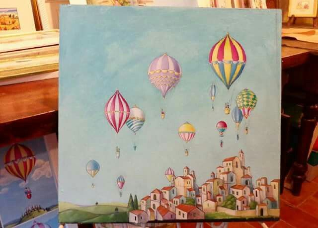 Mongolfiere di Alessandro Pantani Balloons