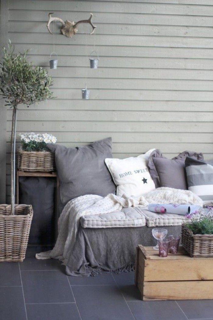 Knusse zit plek voor tuin/balkon/terras