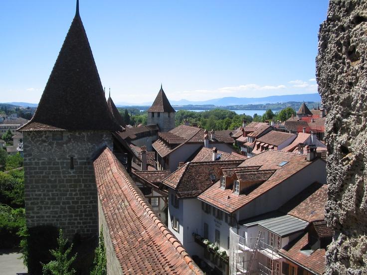 Murten Switzerland  city photos gallery : Murten, Switzerland   The World through the Back Door   Pinterest
