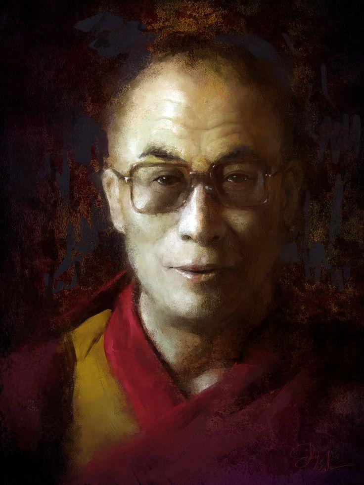 'Portrait of the Dalai Lama'