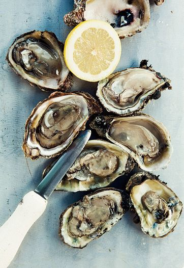 Apalachicola Oysters - This recipe is simple: 1.) Shuck them. 2.) Squeeze a bit of lemon juice over them. 3.) Enjoy.