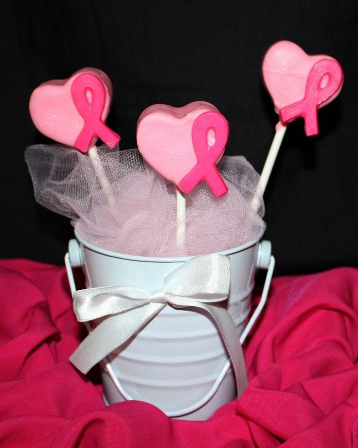 Pink Ribbon Cake Pops on Cake Central