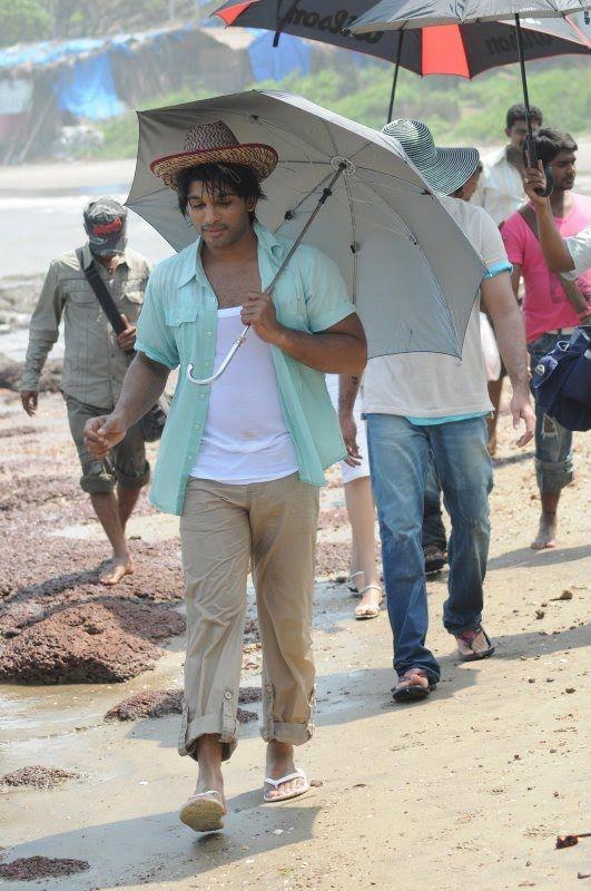 Allu Arjun,Kajal,Shraddha Arya 2 Movie Rare Picture - All Celebrity Profile