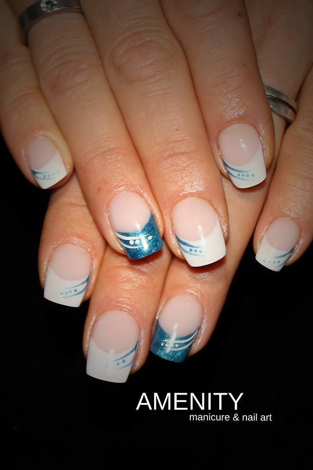 Bildergebnis F 252 R Nailart French French Nail Art French Nail Designs Nails