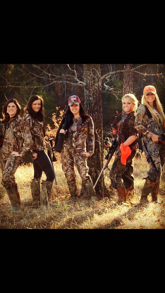 Girls gone hunting (; I love america, Hunting, Cool pictures