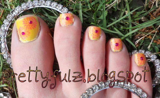 toenail designs for pedicure