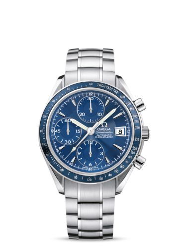 3212.80.00 : Omega Speedmaster Date Blue