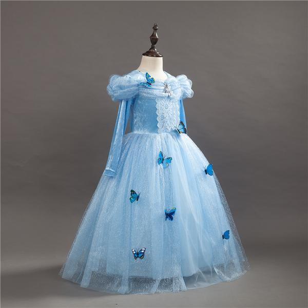 New Party Wear Fancy Cinderella Dress for Girl Starting from $26.99 #FancyDress #CinderellaDress #PartyDress http://bit.ly/fancy-cinderella-dress-for-girl