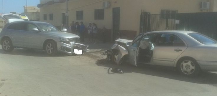 Incidente stradale in via Ruvo