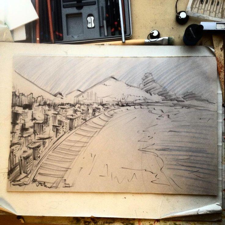#landscape #sketch