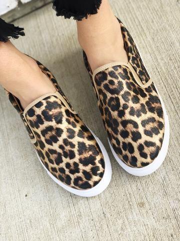 566fc15c729c Keystone in 2019 | Outfits | Shoes, Leopard slip on sneakers, Leopard  sneakers