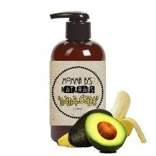 Avocado Banana Conditioning Shampoo SLS and Paraben Free