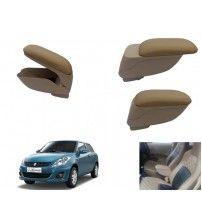 Canabee Car Armrest Console Maruti Suzuki New Swift DZire- Beige