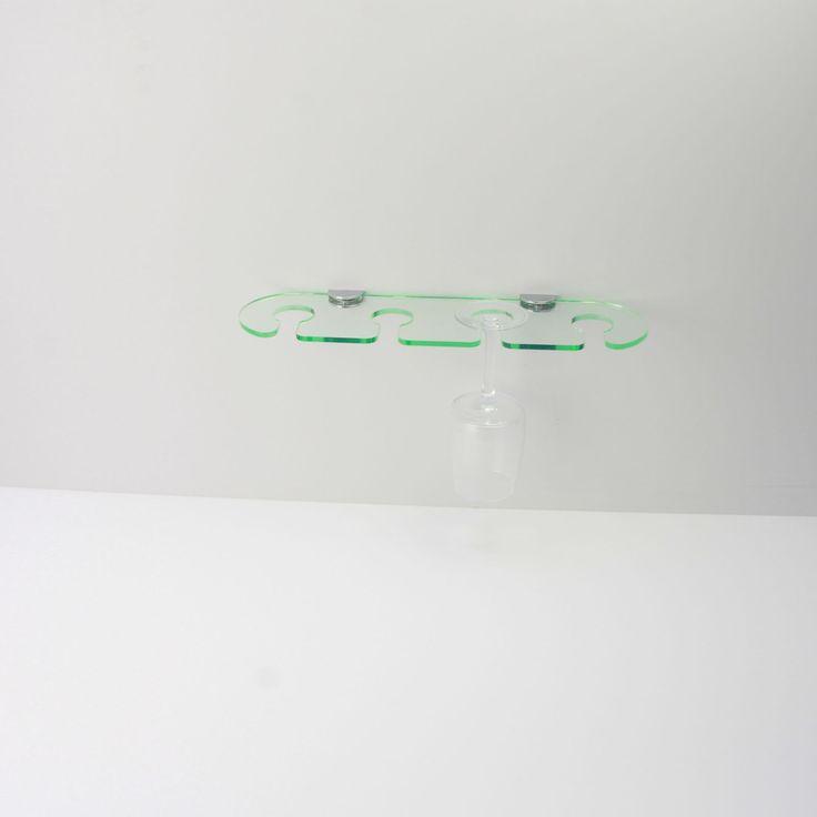 Acrylic Wine Glass Shelf