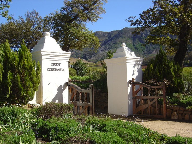 Groot Constantia winery in South Africa