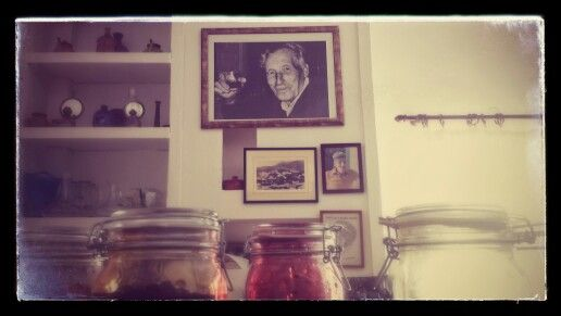 Our grandpa always looks from there #Manolis