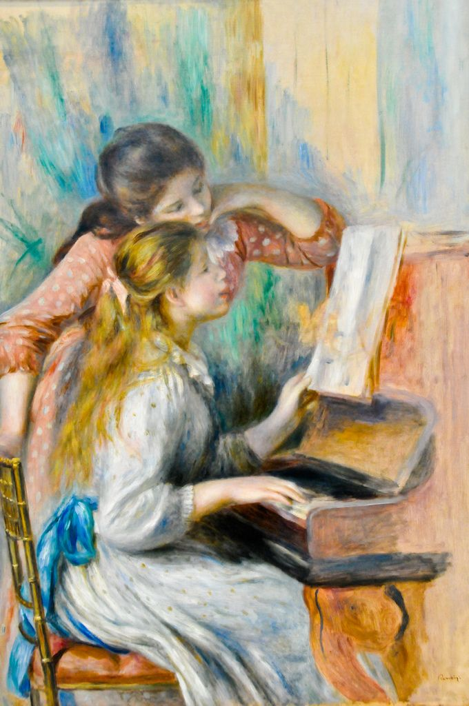51 best musee de l 39 orangerie images on pinterest paris for Auguste renoir paris